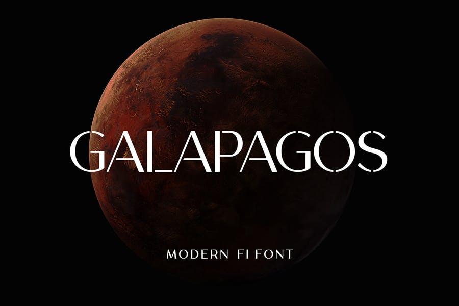 Modern Technology Fonts
