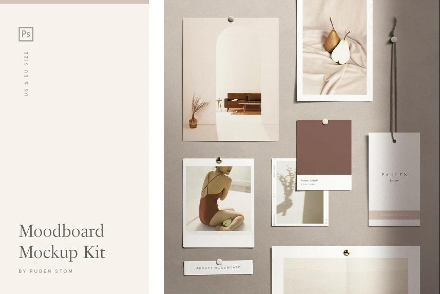 Moodboard Photo Mockup Kit