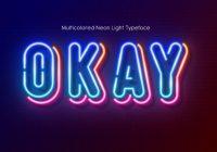 Neon Effect Fonts