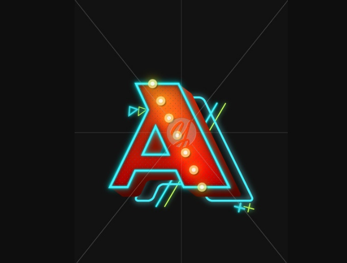 Neon Lines Font