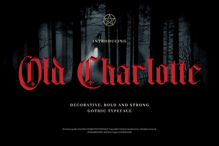 Old Decorative Typeface