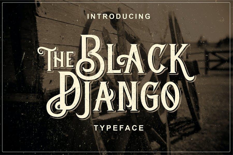 Old Fashioned Blackletter Font