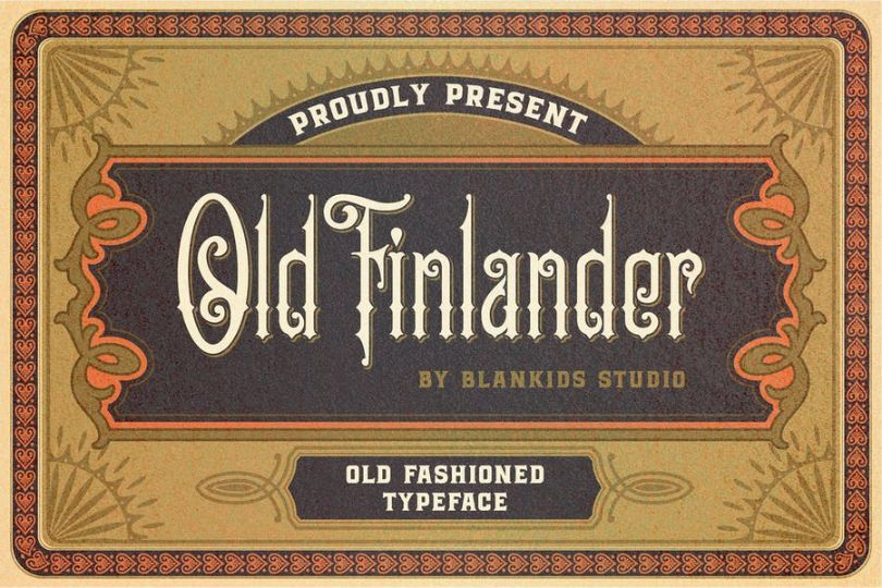 Old Stylish and Classic Fonts