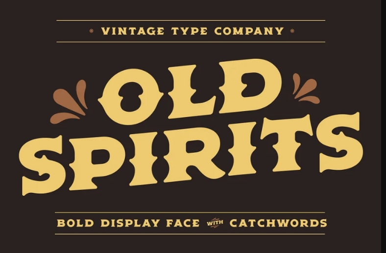 Old and Distressed Fonts