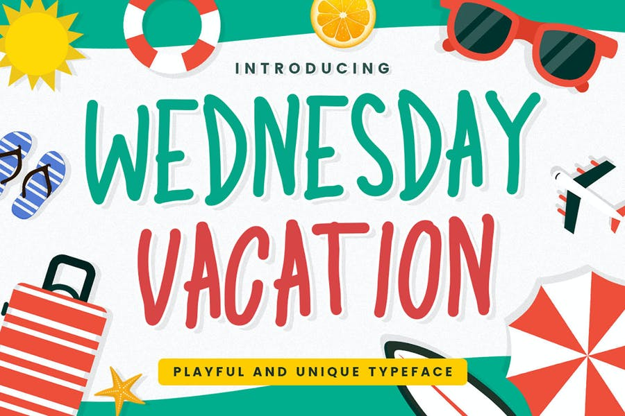 Playful and Vacation Fonts