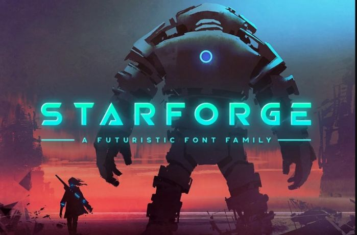 Retro Science Fiction Fonts