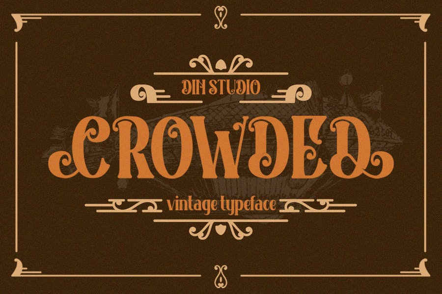 Rounded Vintage Typeface