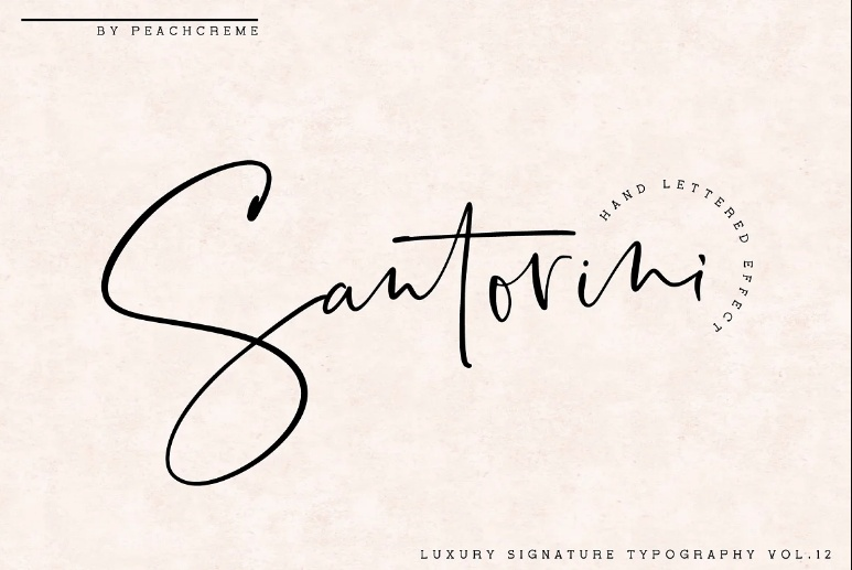 Sophisticated Luxury Typface Fonts