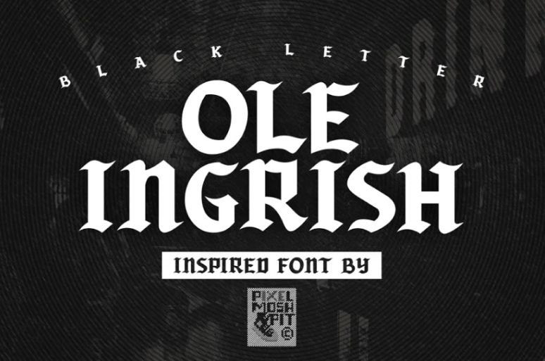 Street Gothic Style Fonts