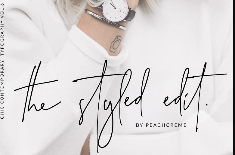 Stylish Chic Fonts