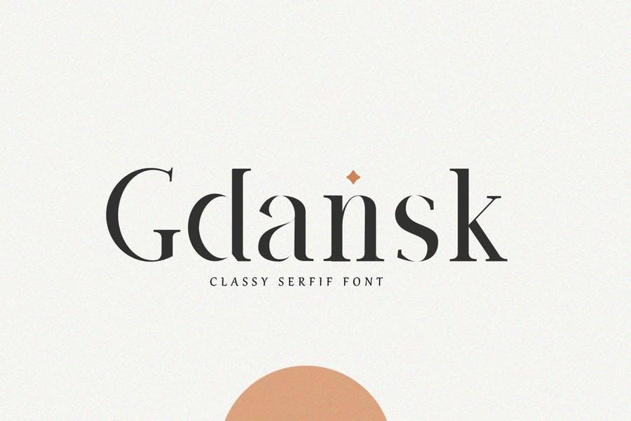 Stylish Classic Serif Fonts