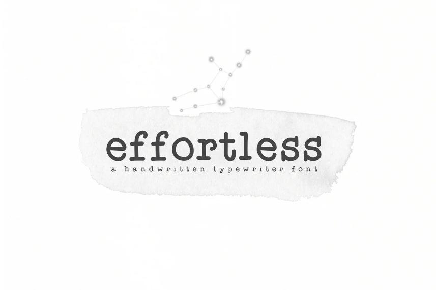 Typewriter TTF and OTF Fonts
