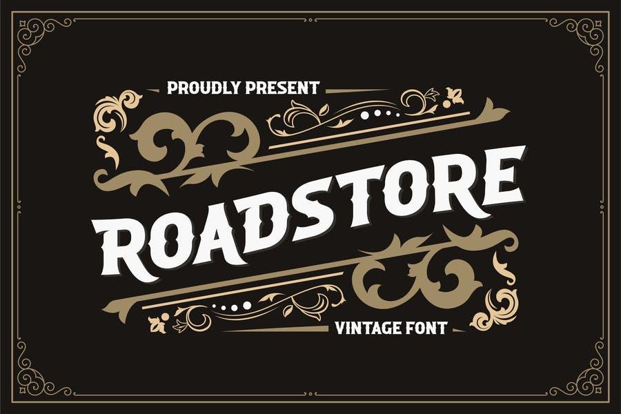 Unique Vintage Branding Fonts