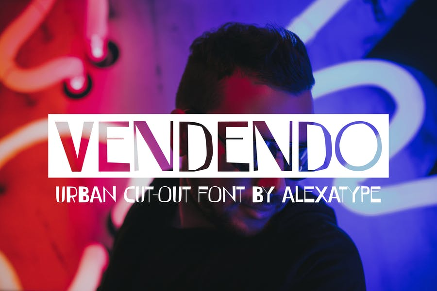 Urban Cut Out Fonts