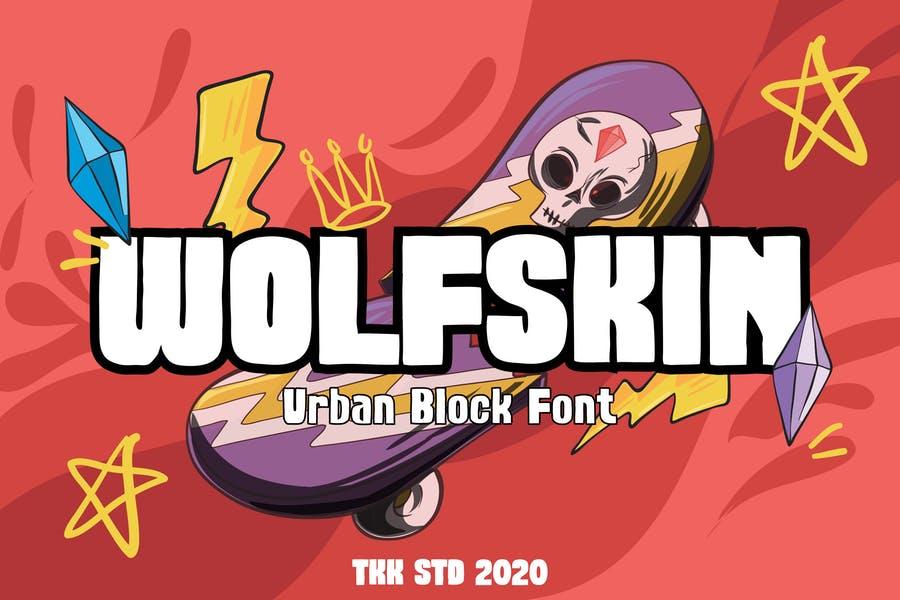 Urban Style Block Fonts