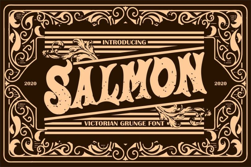 Victorian Style Grunge Lettering