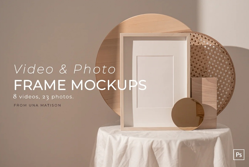 Video and Photo Frame Mockups