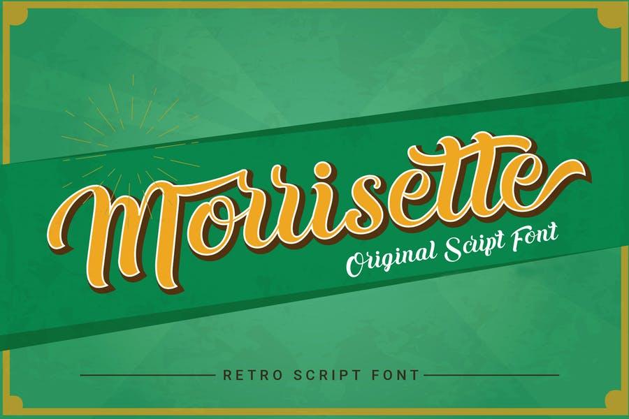 Vintage Blacletter Fonts for Label Design