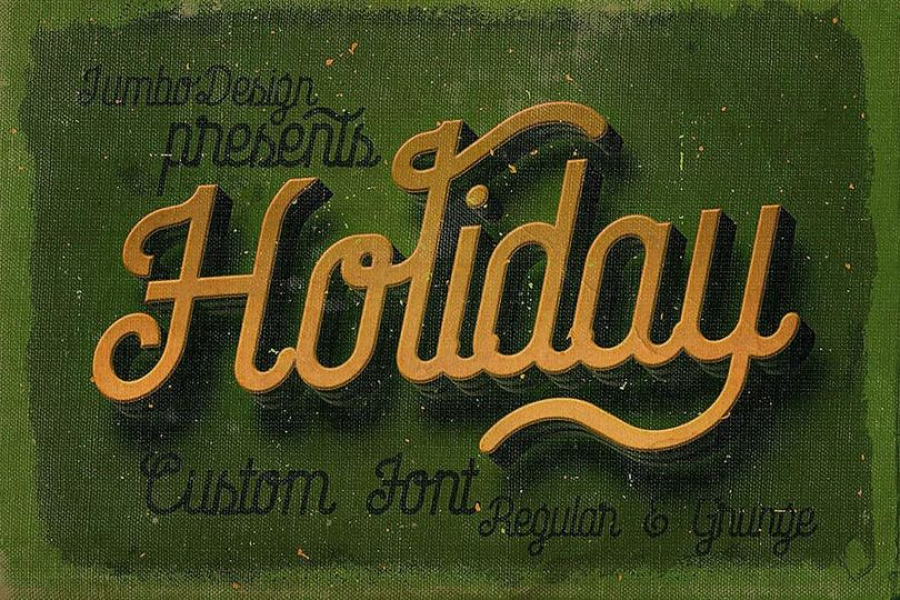 22+ Best Holiday Fonts TTf and OTF Download