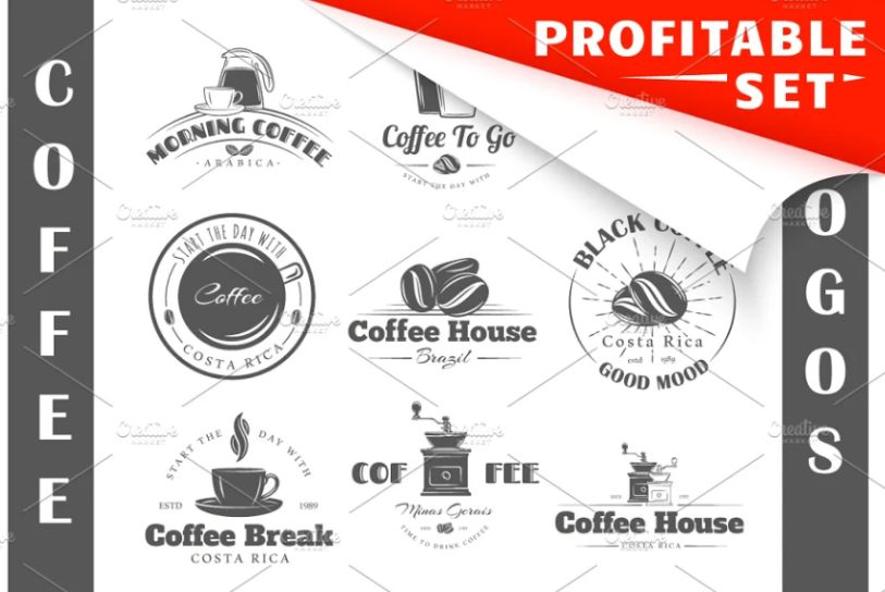 19 Coffee Logo Templates
