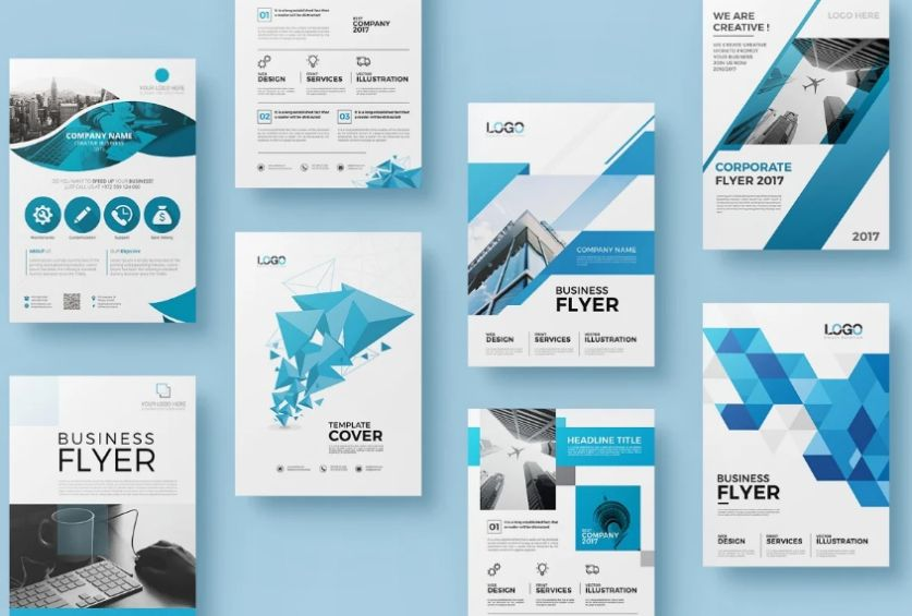 20 Double Sided Corporate Flyers