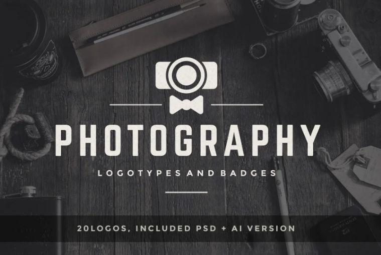 20 Photography Logos and Batches