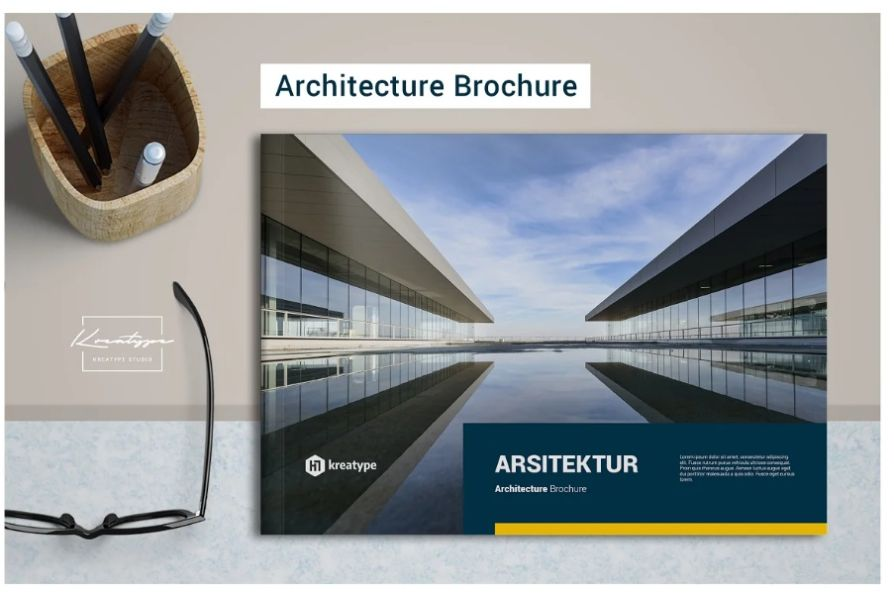 24 Pages Architecture Brochure Template
