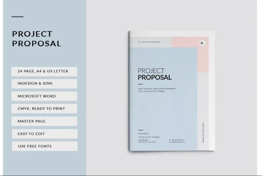 24 Pages Brochure Templates