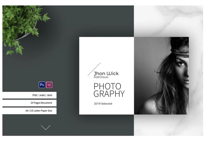 24 Pages Photography Brochure Designs