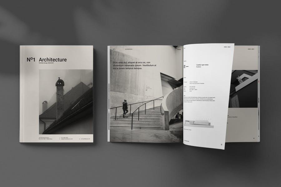 30 Pages Architecture Brochure Designa