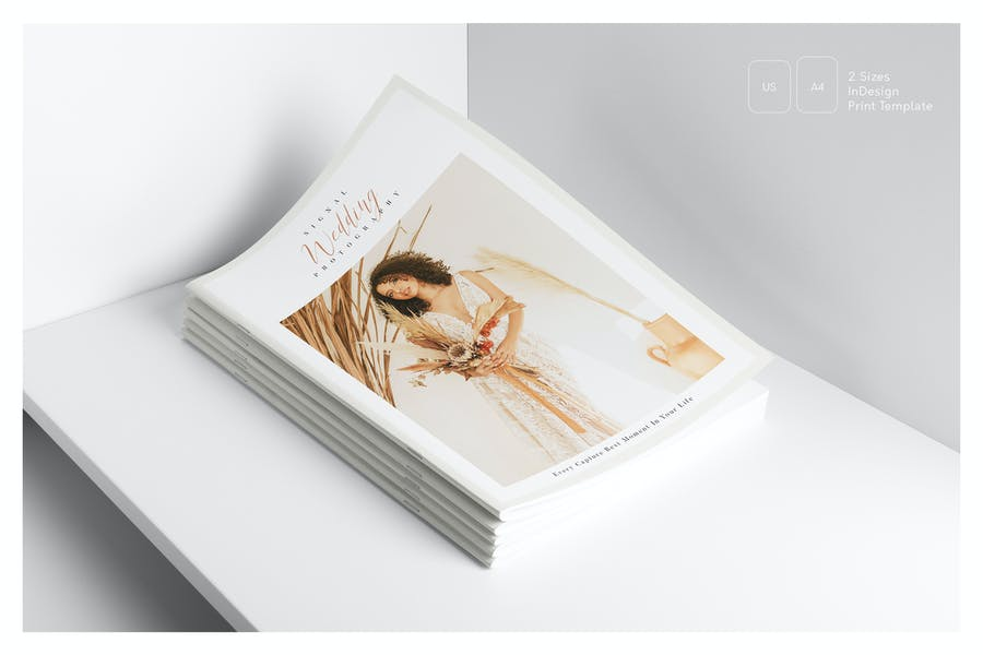 30 Pages Photography Brochure Template