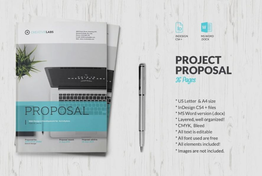 Pages Business Proposal Templates