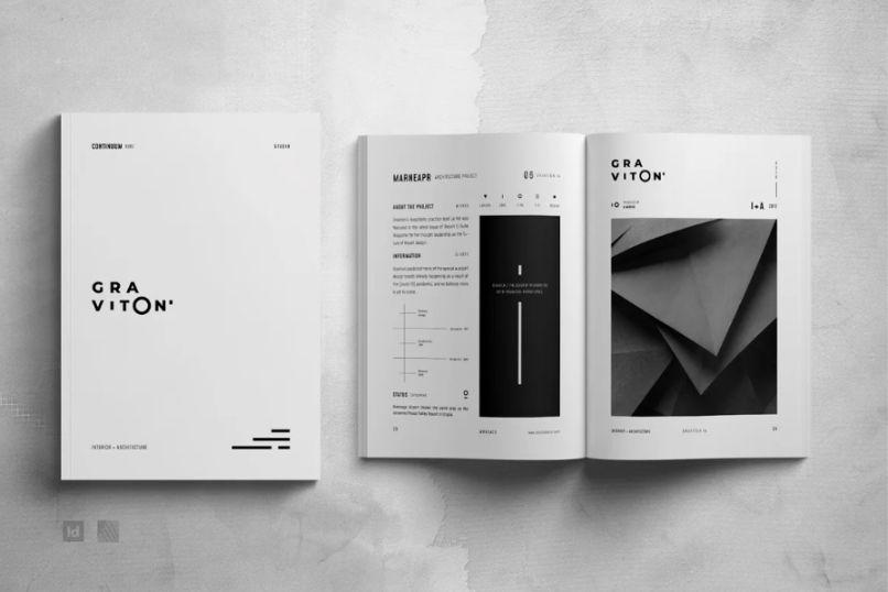 42 Pages Architecture Portfolio Design