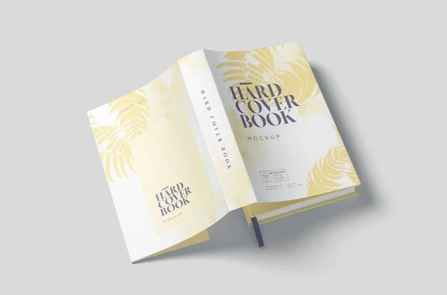 5 Dust Jacket Book Design Mockups
