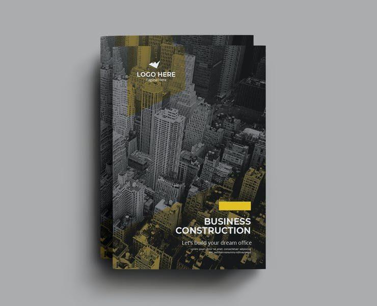 15+ Best Construction Brochure Template Download