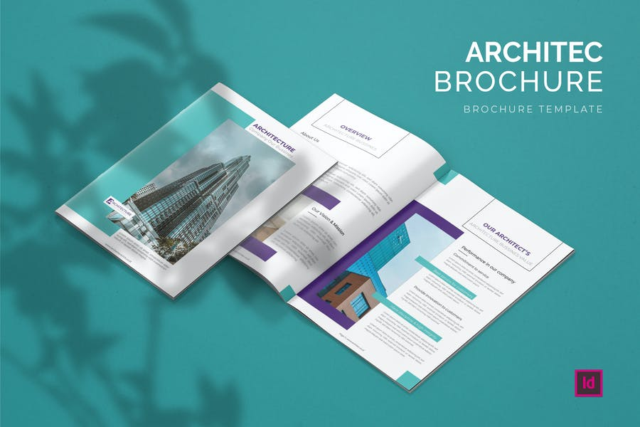 8 Pages Architecture Brochure Templates