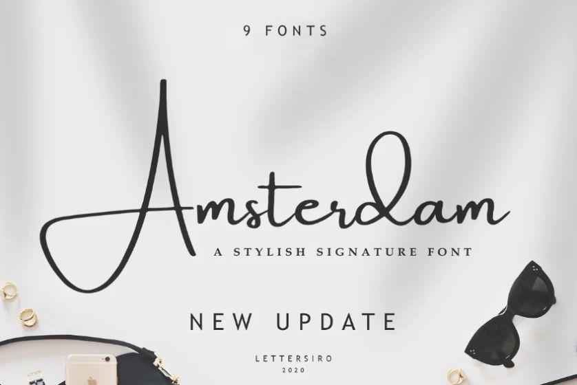 9 Elegant Signature Fonts