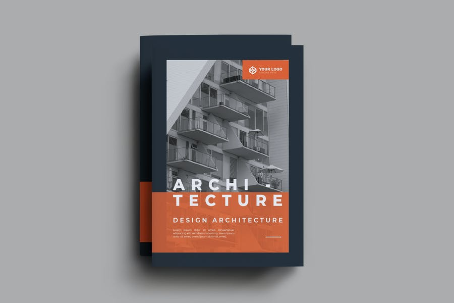 A4 8 Pages Brochure Template