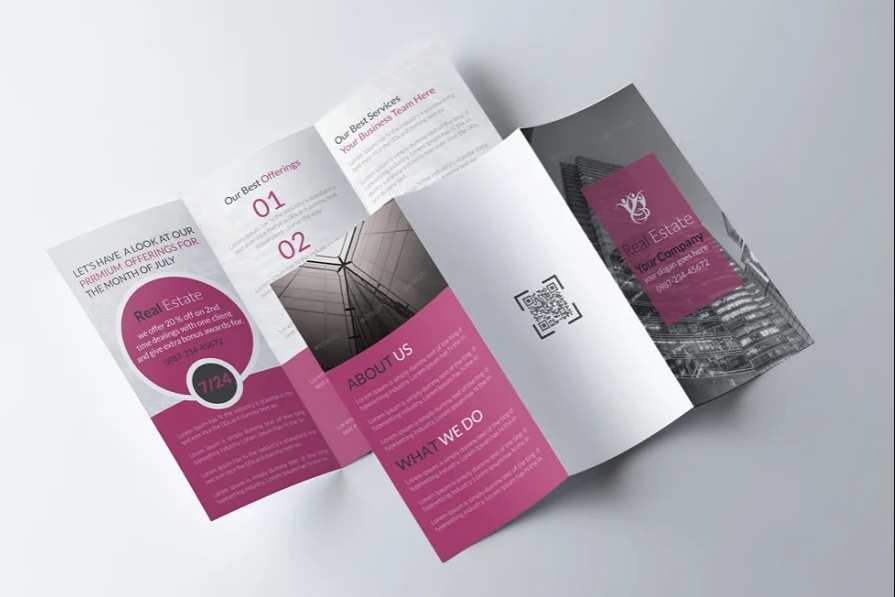 A4 Clean Real Estate Flyers