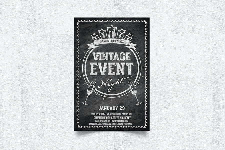 A4 Event Night Flyer