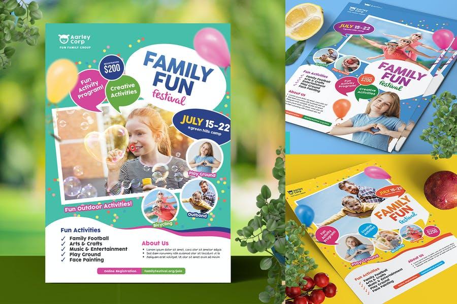 A4 Family Fun Flyer