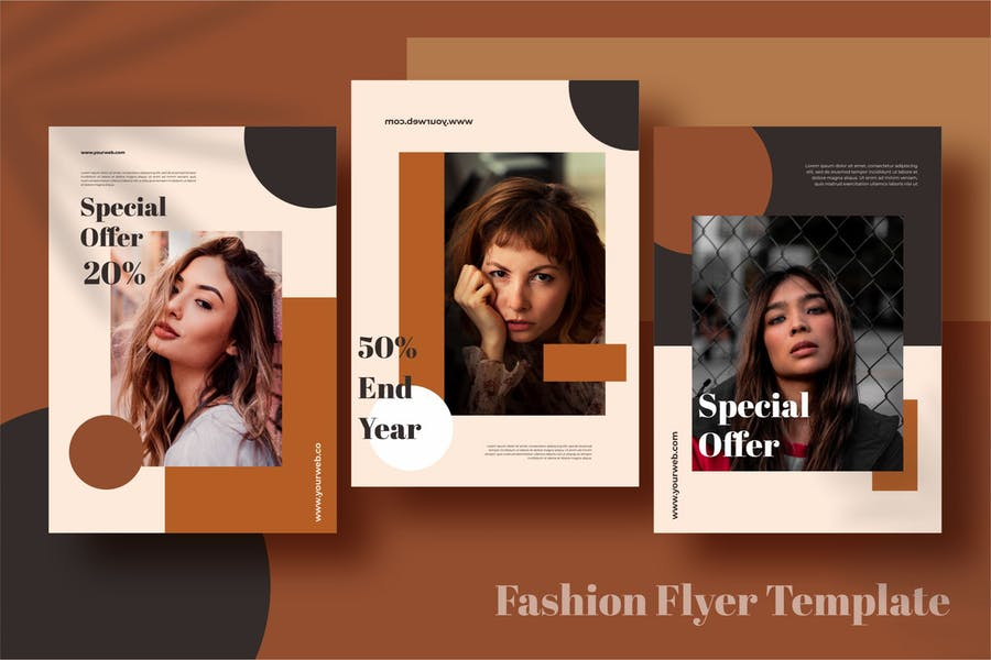 A4 Fashion Flyer Template