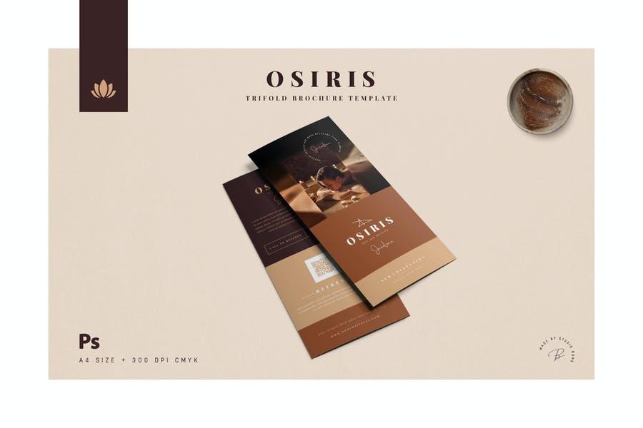 A4 Spa Brochure Designs