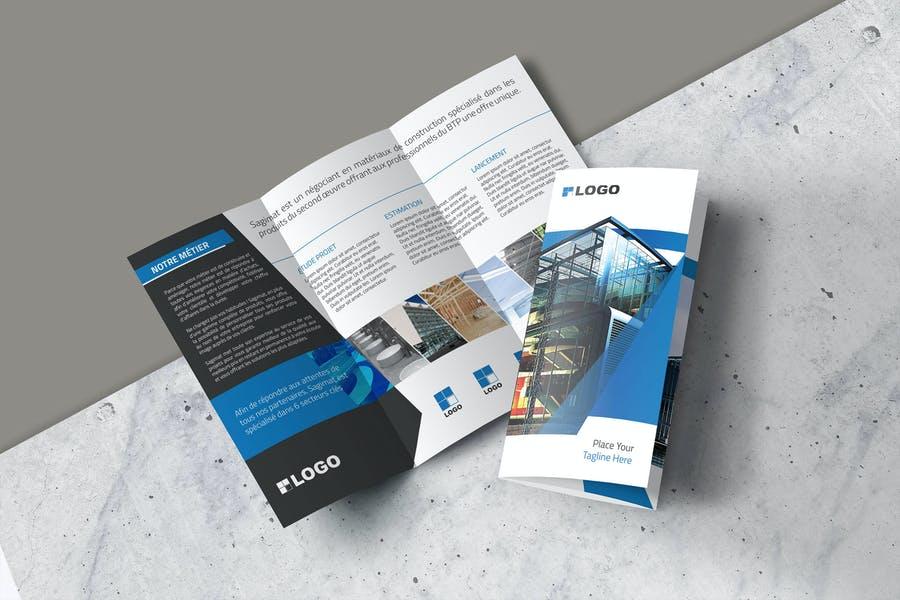 A4 Tri Fold Brochure Templates
