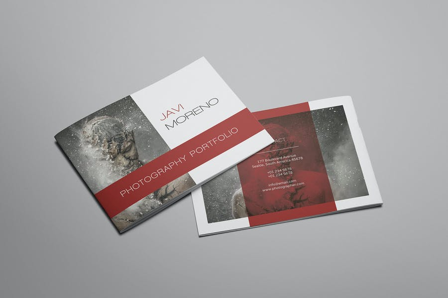 A5 25 Pages Photography Brochures
