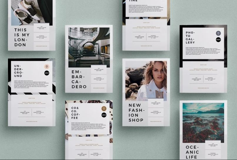 A5 Fashion Event Flyer Design