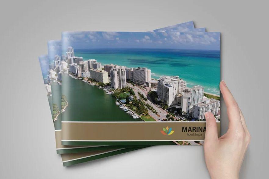 A5 Horizontal Brochure Template