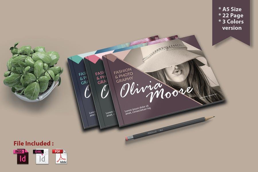A5 Photography Brochure Designs
