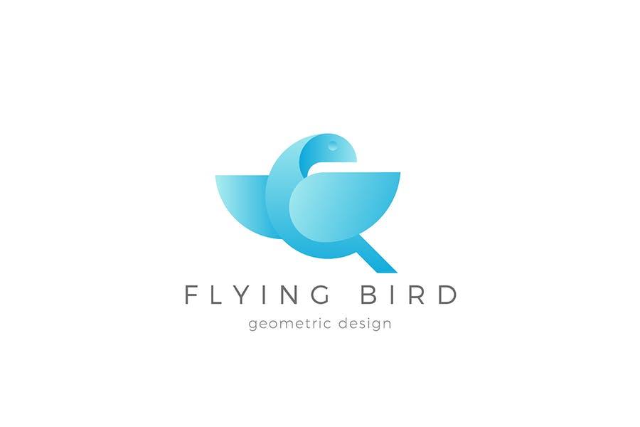 Abstract Dove Branding Logo