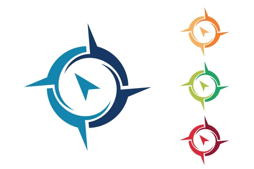 Abstract Navigational App Logo
